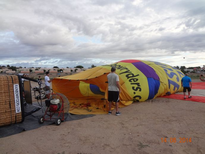 Balloon Rides in Albuquerque - NM 015
