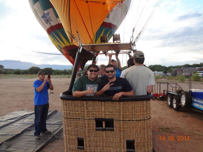 Balloon Rides in Albuquerque - NM 052