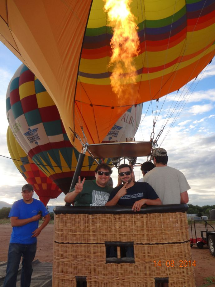 Balloon Rides in Albuquerque - NM 053
