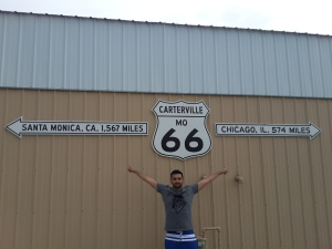 Carterville mark Route 66