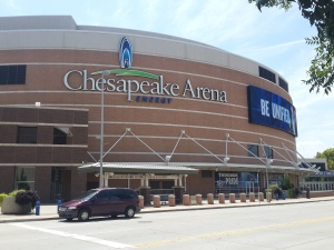 Chesapeake Energy Arena, the home of the Oklahoma City Thunder