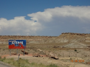 Utah, day 14. Welcome to Utah